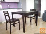 Prodam 4 masivne stole Domitalia