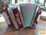 Otroška Diatonična Harmonika 3/ii 34+1