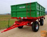 BICCHI 17 Ton - dvoosna traktorska prikolica