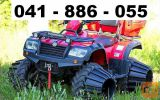 Dodatna kolesa za ATV/UTV za blato, pesek, sneg