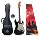 SX SST62-BK Električna kitara električne kitare stratocaster