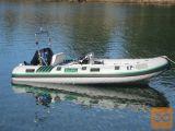 Gumenjak Sava 440 z motorjem Tohatsu 30MFS