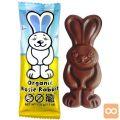 Bio čokoladni zajček Moo Free, brez glutena, 32 g
