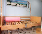 Električna negovalna bolniška postelja s trapezom in blazino