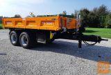 Traktorska prikolica, tandem, Brantner TA 10041 - gradbena