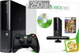 Xbox 360 Slim 250GB Kinect  + iXtreme v4.0 + Xbox Live