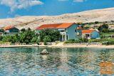 Otok Pag, Vidalići, Apartmaji Calimero - 10 m od plaže