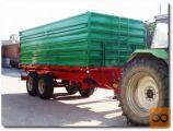 Leško 18TT, Traktorska tandem kiper prikolica