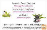 Masaža z aroma olji 75€!Sežana