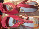 pink lak Sandali št: 43
