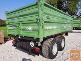 Traktorska prikolica, Brantner TA 10041 - NA ZALOGI