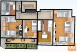 Šiška Koseze 3-sobno 75 m2