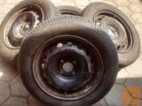 Platišča od cliota s pnevmatikami sava 175-65-14 za 80€